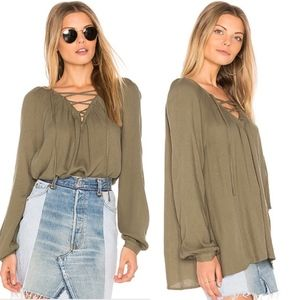 (JACK by BB DAKOTA) Green Boothe Top
